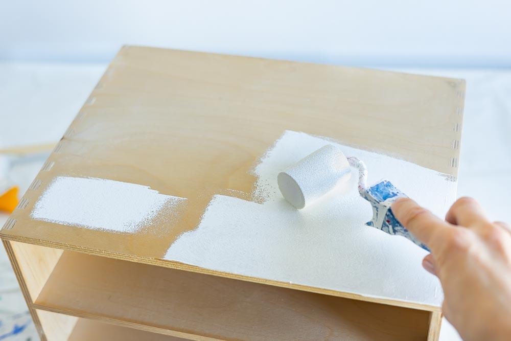 kommode weiß lackieren