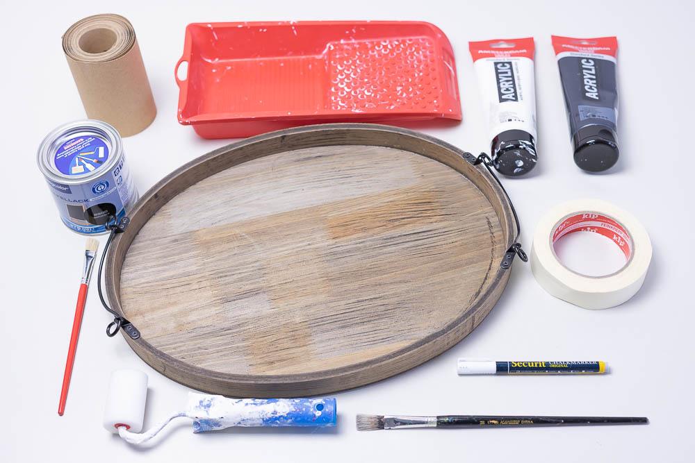 Material DIY Tablette Handlettering