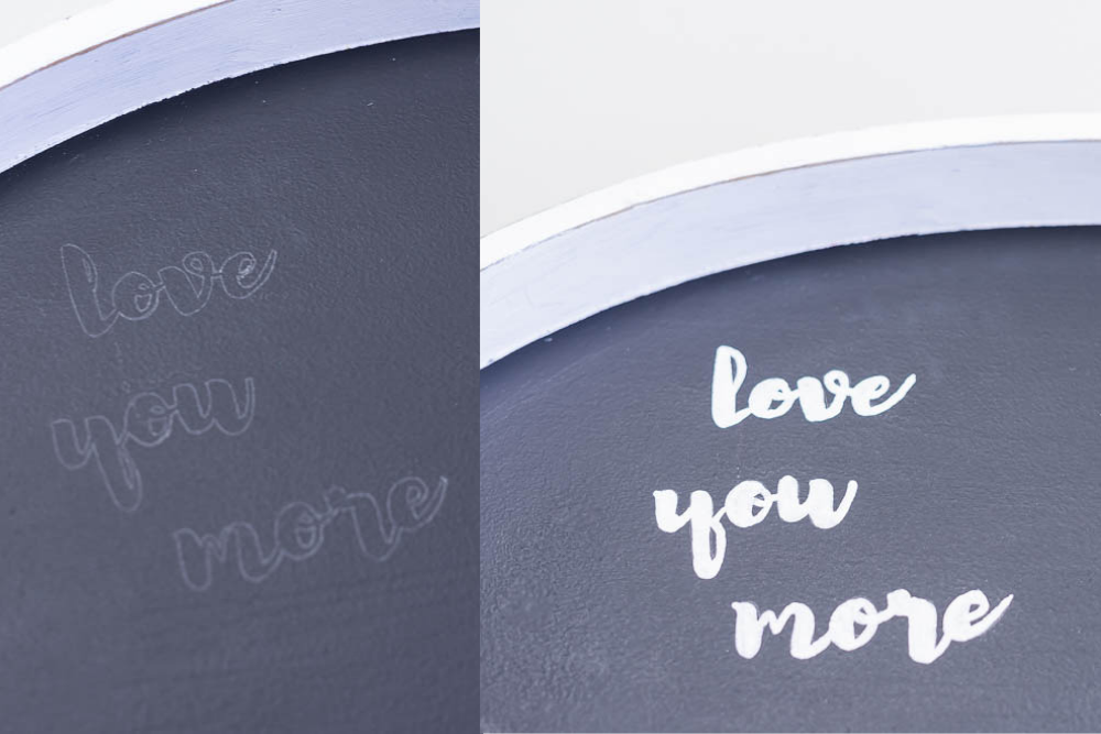 love you more handlettering
